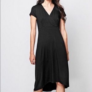 Eileen Fisher Jersey High Low Midi Dress S